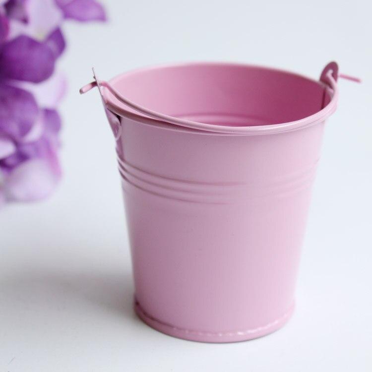 20x Pink baby shower Cajas de caramelos para la boda metal color ...