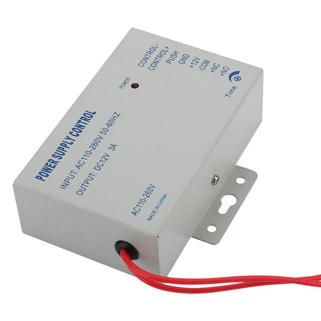 Mountainone Waterproof Metal Touch 8000 Users Door RFID Access Control Keypad Case Reader Electric Door Lock + 10 access cards