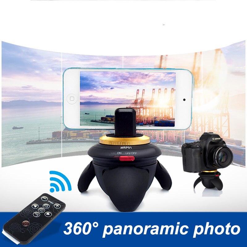 AFI MRP01 Time Lapse Video Camera Rotator Panorama Tripod Head LED 360 Gopro Timelapse Panning For Canon Nikon Sony DSLR Phone