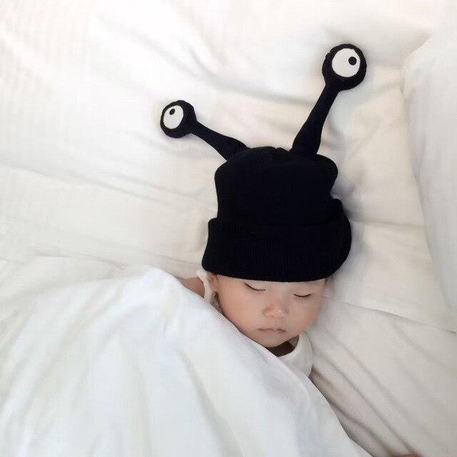 Bebés sombrero tejer sombrero insectos dos Antenas dibujos animados ...