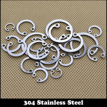 15pcs 304 Stainless Steel SS DIN472 M28 C Type Snap Retaining Ring For 28mm Internal Bore Circlip