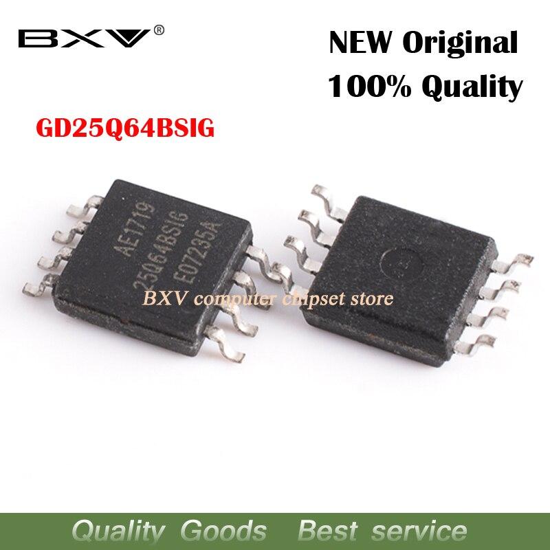 Free Shipping 5pcs GD25Q64BSIG 25Q64BSIG GD25B64 SOP-8 New Original