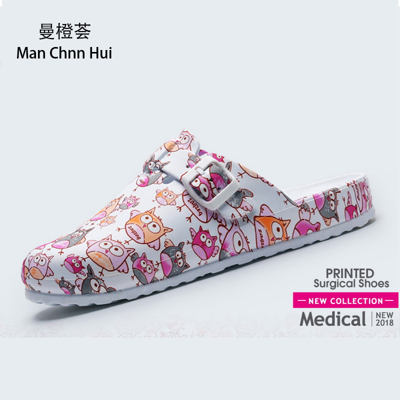 Medical Shoes Hospital Slippers Clogs For Women Doctor Nursing  Accessories Anti-skid EVA Surgical Shoes