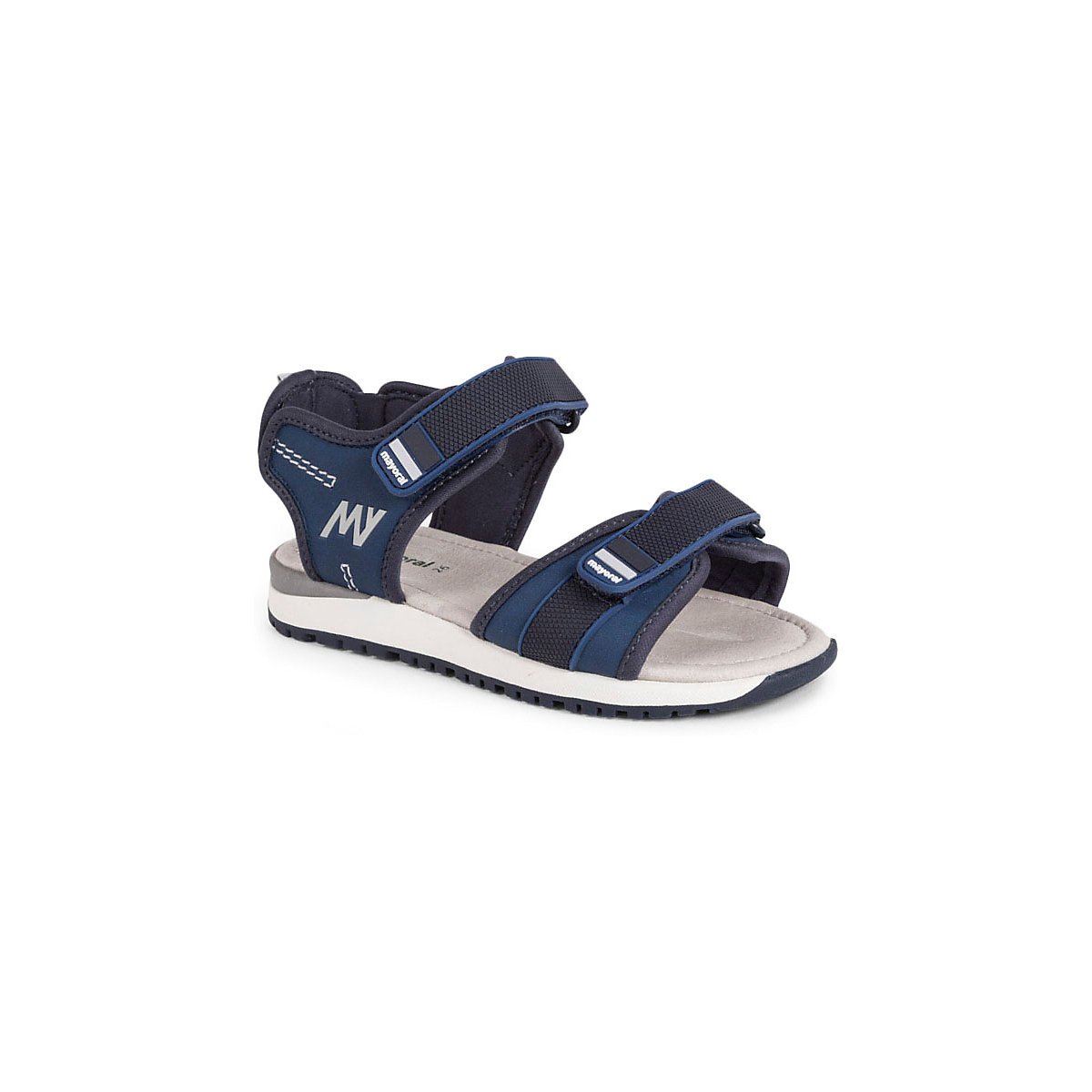 MAYORAL Sandals 10642726 children's shoes comfortable light summer Boys Blue Hook & Loop plain black satin bow high heels women sandals white gladiator shoes platform cover heel summer ankle cross strap party wedding shoes