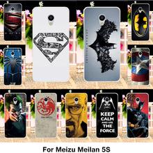 TAOYUNXI Phone Case For Meizu Meilan 5S Cover MEIZU M5S Case Meilan5S 5.2 inch Super Iron Man Series TPU Bumper Cover Phone Bag