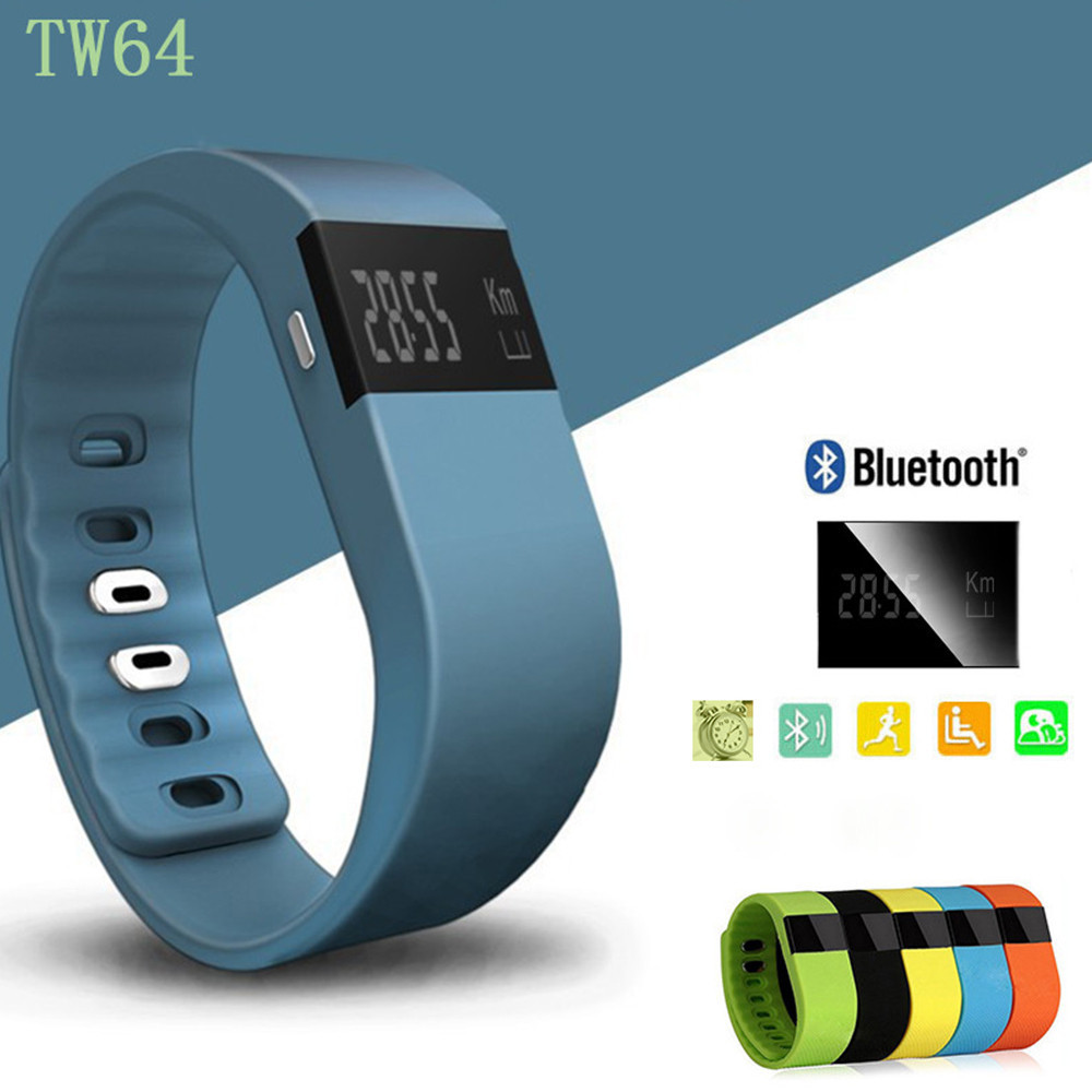 TW64 SmartWatch Bluetooth Smartband Sport Bracelet Smart Band Watch Watches Wristband Waterproof For iPhone IOS Android