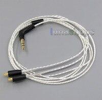 Lightweight Silver Plated 4N OCC Cable For audio technic CKS1100 E40 E50 E70