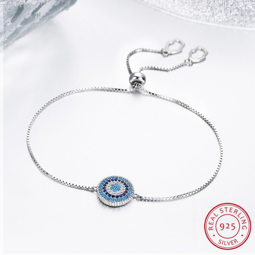 24.5CM Women Bracelets Silver Color Link Chain Bracelet For Womens Jewelry,Fashion Jewlery, Real 925 Sterling Silver