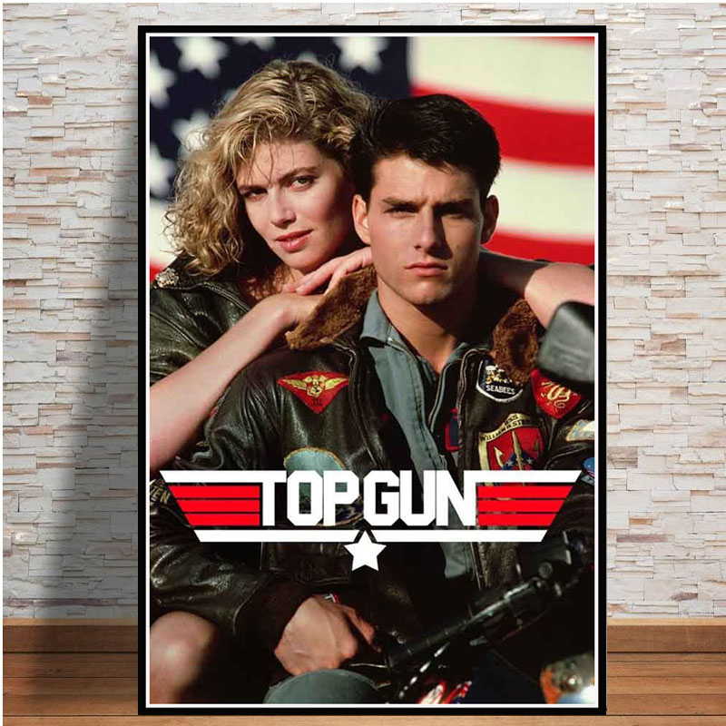 TOP GUN Movie Art Silk Poster 12x18 24x36 24x43