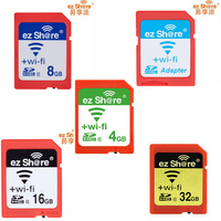 Free Shipping Ezshare EZ Share Micro Sd Adapter Wifi Wireless 8G 16G 32G Memory Card TF