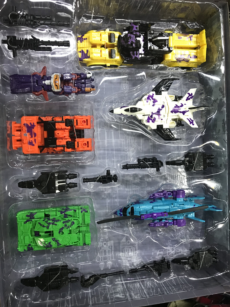 Lensple Transformation 6 In 1 KO New Desigh Bruticus And Shockwave Collection Robots Action Figure Toys in Action Toy Figures from Toys Hobbies