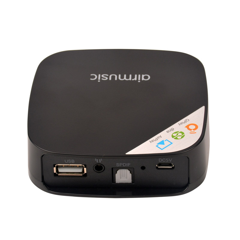 Wifi Stereo Streaming Music Receiver Mini Wireless Adapter support DLNA AirPlay Lossless Output for Smartphone LMPJ