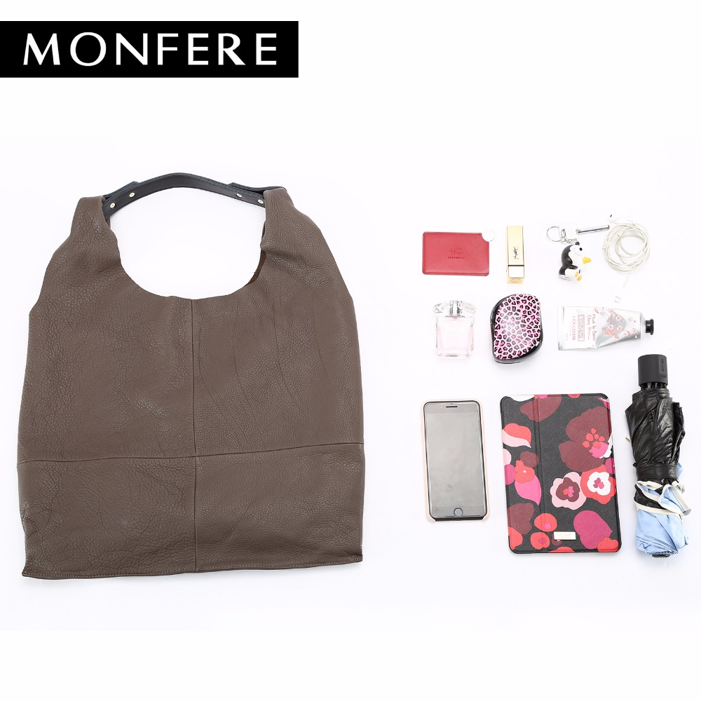 monfere moda genuína mulheres de Shape : Tote Bag;bucket Bag;shopping Bag;flat Bag