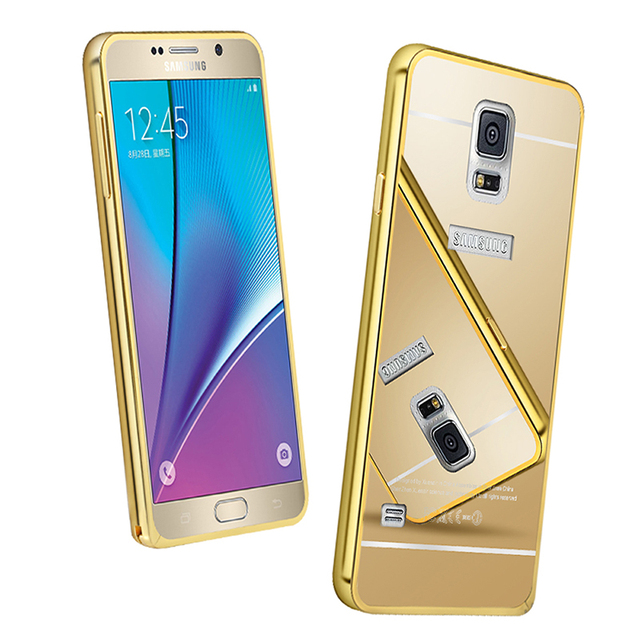 cheap for discount b99a3 a23ed US $9.9 |360 full Protection Shockproof Acrylic Mirror Cover For Samsung  Galaxy S5 I9600 Metal Phone Case For Samsung S5 Fundas on Aliexpress.com |  ...