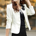 IMC NEW Spring summer style slim female coat short woman clothes jackets suits Outwear coat women white 4XL