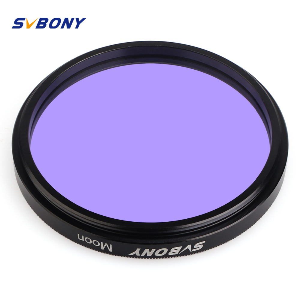 SvBony 2inch Filter Telescope Astronomy Eyepiece Moon Filter For Moon&Skyglow Filter For Astromomical Telescope Eyepiece Ocular
