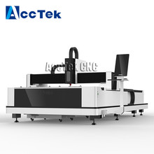 Discount price 5 x 10 feet stainless steel fiber laser cutting machine 500W 1KW for metal carbon steel Galvanized sheet цены