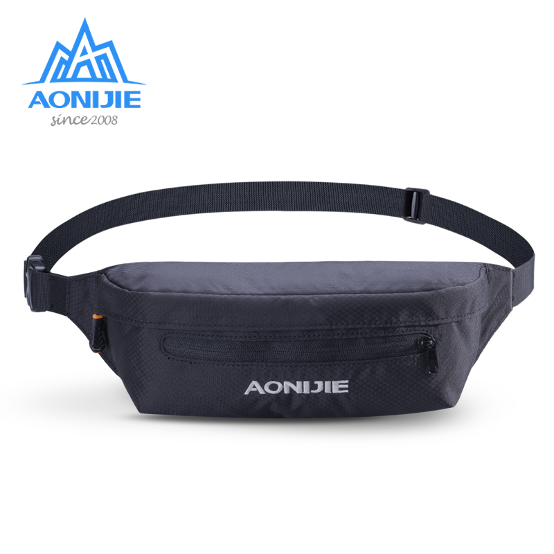AONIJIE Sport Waist Anti-theft Belt Hip Bag Pack Racing Hiking Camping  Fitness Running 3 Colors