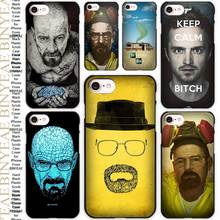 Breaking Bad Chemistry Walter Black Scrub Case Cover Shell for iPhone Apple 4 4s 5 5s SE 5c 6 6s 7 Plus