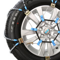 Roadway Safety Snow Chains R15-R17 Manganese titanium alloy chain, SUV car tire chain car tire chains Russian winter for cars