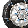 Seguridad en las carreteras de Cadenas Para La Nieve R15-R17 Manganeso aleación de titanio de la cadena, neumático de coche SUV cadena cadenas para los neumáticos de coche de invierno Ruso de coches