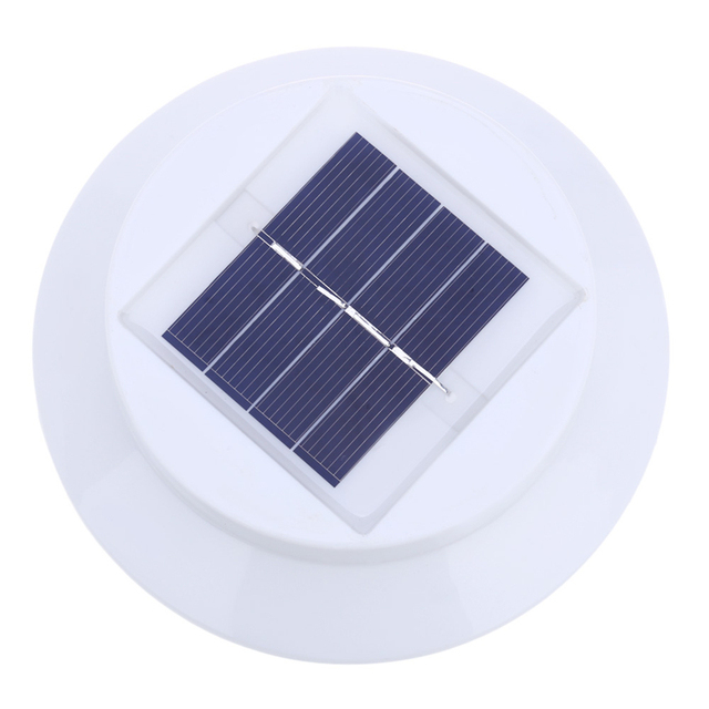 2PCS Solar Eave Light 3 LEDs Outdoor Lighting Automatic Sensor Aisle Wall Roof Patio Lawn Eaves Fence Doorway Garden Lamp