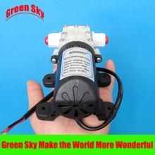Max pressure 145PSI 4L/Min DC 45W mist fog spray maker 12v high pressure water pump стоимость
