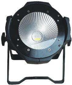 4pcs/lot high quality aluminum housing 100W cob light 6 in 1 RGBWY UV LED COB light for night culb