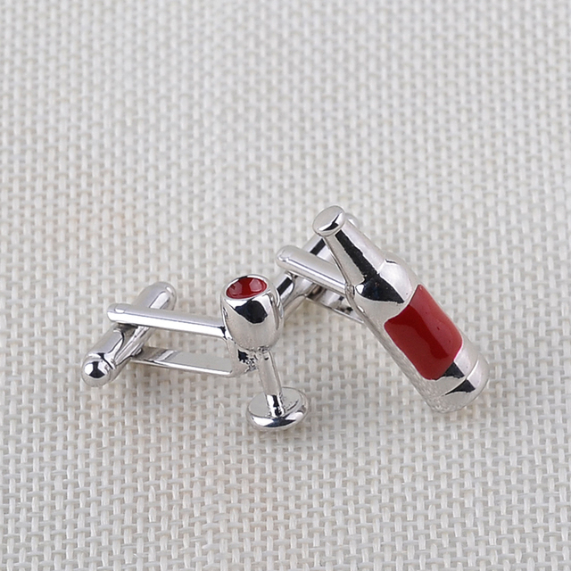 Romantic Cufflinks Mens French Shirt Enamel Jewelry Unique Wedding Cuff Links Business Cufflink