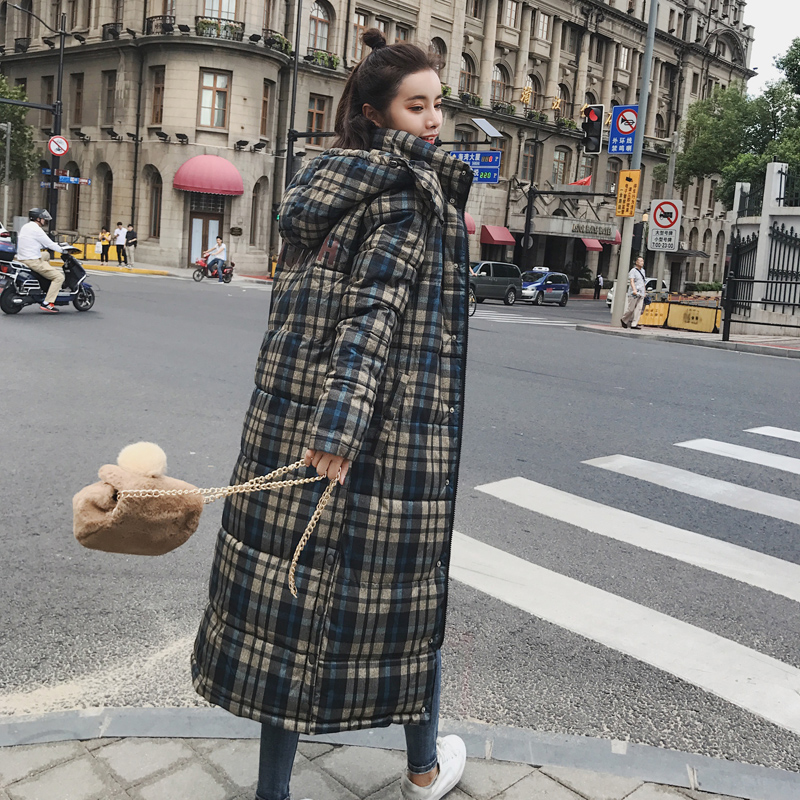 KUYOMENS 2018 Winter Jackets Coats Women s Long Warm Thickening Hooded Parka Female Befree Outerwear Coats