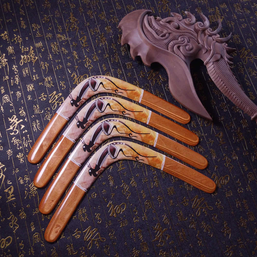الطيران رحلة اليدوية الخشب يرتد المرح في الهواء الطلق لعبة الرياضية رمي و الصيد القرص الطائر الصحن مناسبة لمبتدئ الحديقة لعبة