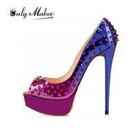 Onlymaker Brand Pumps Stilleto Women Shoes Sandal High Heels Zapatillas Deportivas Hombre Gladiator Sandals Women Summer