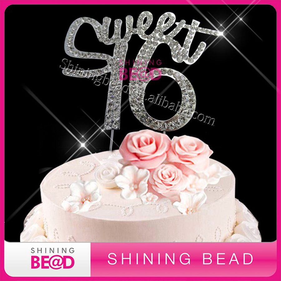 Compare Prices on 16th Birthday Cake Toppers Online ShoppingBuy