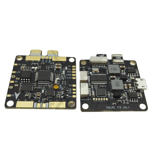 HGLRC Arco F3 V3.1 PRO Controlador de Vôo FPV OSD Integrado Medidor de Corrente 12 V BEC + PDB 5V3A 2 S-6 S