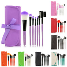 1 Set/7 PCS Wood Makeup Brush Set Makeup Cosmetic Tools Beauty Brushes with Bag Aug 11