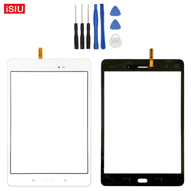 New 8.0 inch LCD Touch Screen Lens Glass Outer Front Panel For Samsung Galaxy Tab A 8.0 T355 / SM-T355 + Tools