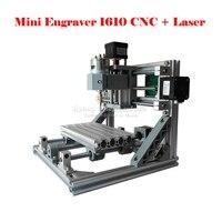 Mini CNC 1610 500mw Laser CNC Engraving Machine Pcb Milling Machine