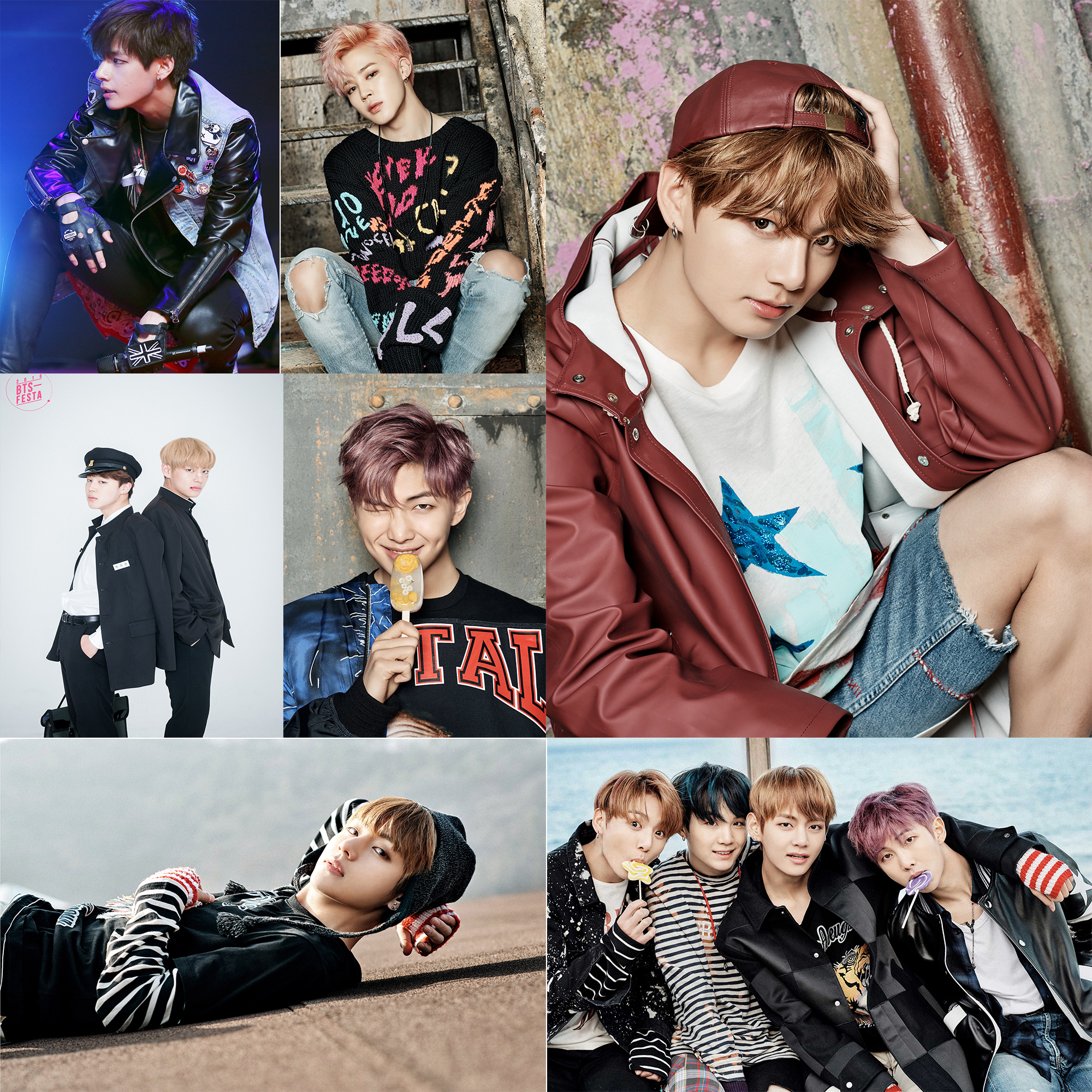 buy bts character posters wall stickers home decoration white paper prints jin. Black Bedroom Furniture Sets. Home Design Ideas