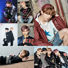 BTS Character Posters Wall Stickers Home Decoration White Paper Prints Jin Jimin HOME ART MU14