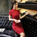 2016 summer red sexy chinese dresses qipao cheongsam shanghai chinese tradition cheongsam qipao dress chinese ladies dresses