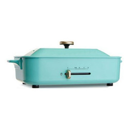 CUKYI household Electric Grills & Electric Griddles BBQ 2 Hotplates Smokeless Grilled Meat Pans