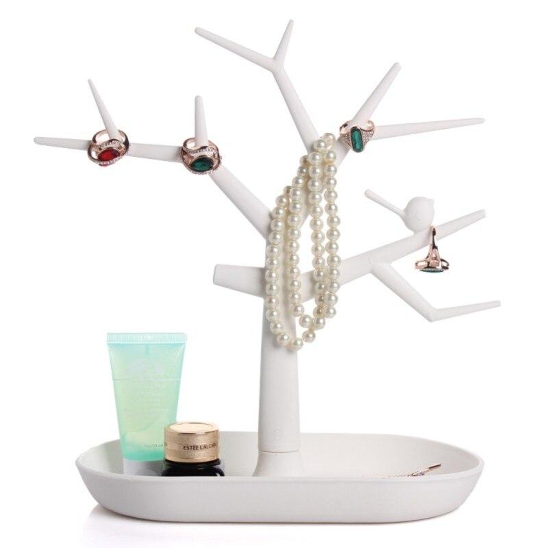 Plastic Vogel Boom Vormige Sieraden Display houder Rack Armband ...