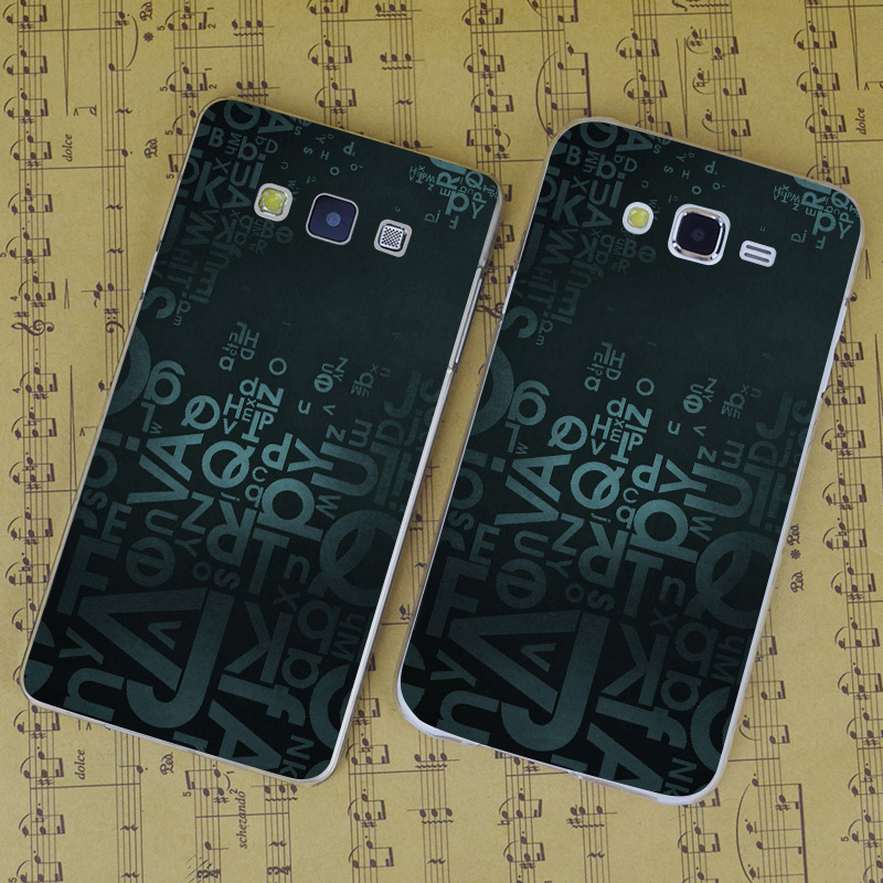 b2145 letters blue background transparent pc hard case cover for samsung galaxy j 3 5 7 a 3 5 7 8 9 2016 grand 2 prime