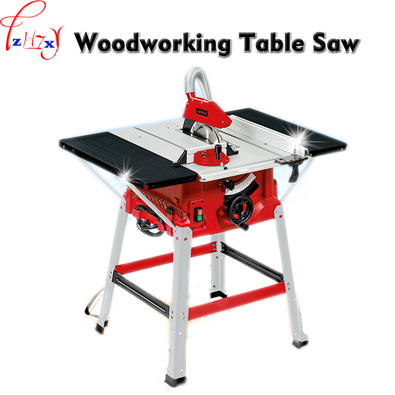 Multi Function Woodworking Cutting Machine 10 Inch Sliding Table Saw Push Plate Saw Angle Cut