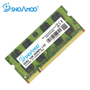 SNOAMOO DDR2 1GB Laptop CL6 800mhz Computer Memory-Warranty 667mhz PC2-6400S 2rx8 SO-DIMM