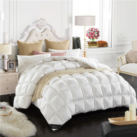 Doremi Bread Squares Duck Down Comforters Double Feather Quilt Bedding Filling Blanket Quilt Filler Factory
