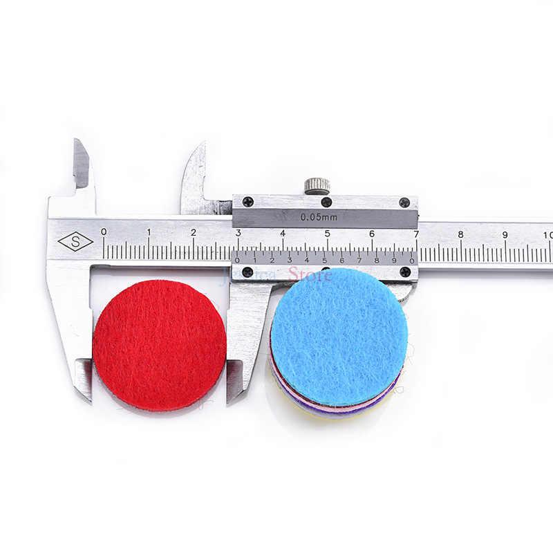 100 шт. разбирают Цвета 20 мм 25 мм 30 мм Эфирные масла Фетр колодки для DIY Поиск