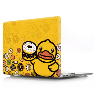 Image 3 - duck color printing notebook case for Macbook Air 11 13 Pro Retina 12 13 15 inch Colors With Touch Bar New Air 13 Pro 13 15