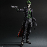 PA Change DC Batman 2nd Generation Clown JOKE Raction Figure Collection Crafts Ornaments Kids Toy Gift