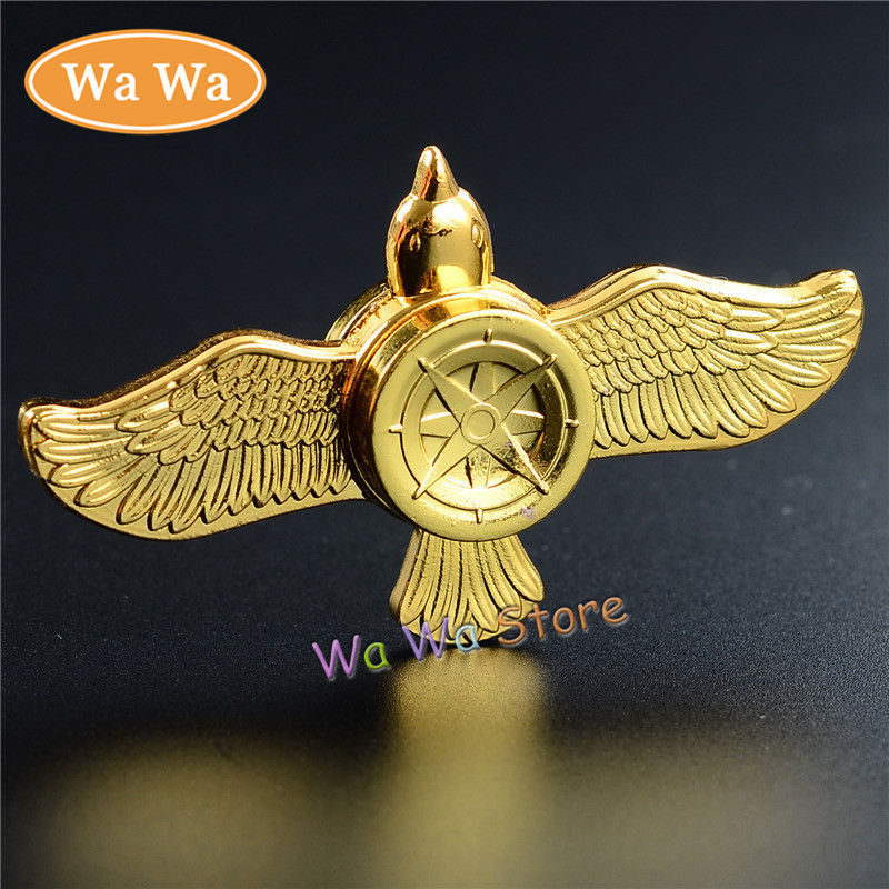 Eagle Fidget Spinner Metal Finger Spinner Hand Spinner For Autism Adult Anti Relieve Stress Toy Spiner